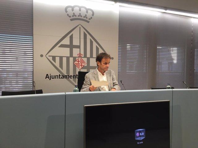 El teniente de alcalde de Derechos Sociales de Barcelona, Jaume Asens