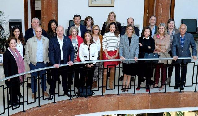 La concejala de Turismo con agentes y operadores del congreso Travel Advisors+