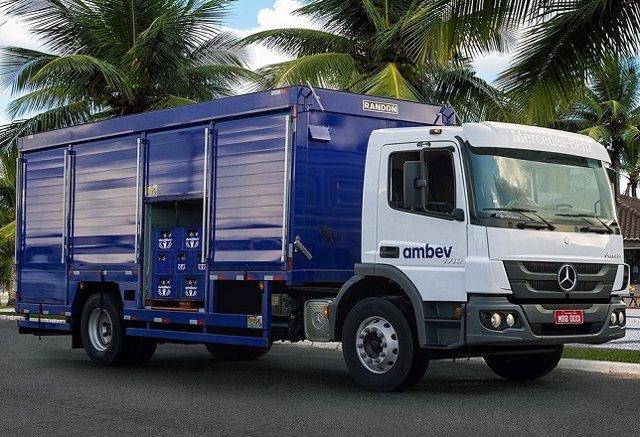 Mercedes-Benz entregará 228 camiones a una cervecera brasileña