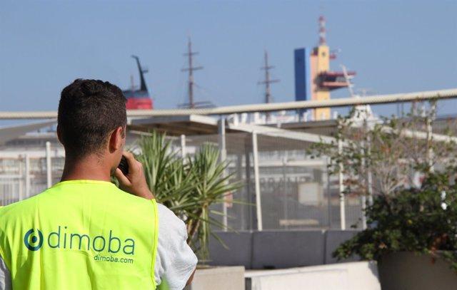 Control de tráfico en el Puerto de Almería