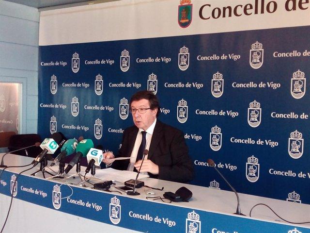 Carlos López Font, portavoz del gobierno de Vigo