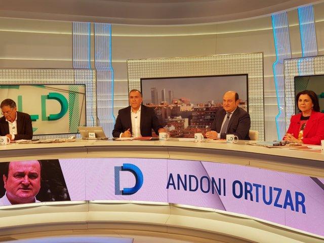 Andoni Ortuzar en TVE