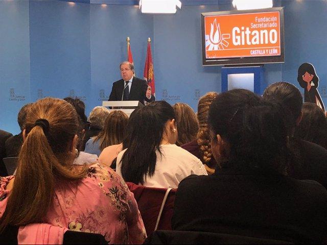 Valladolid. Herrera reunión secretariado Gitano