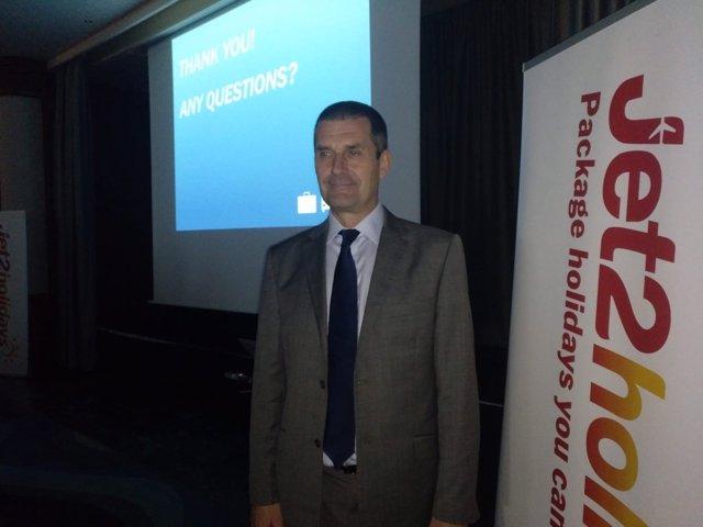 El CEO de Jet2.Com y Jet2holidays, Steve Heapy