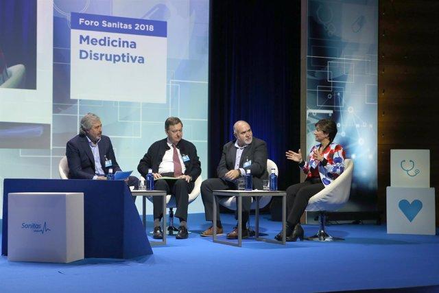 Foro Sanitas 2018 Medicina Disruptiva