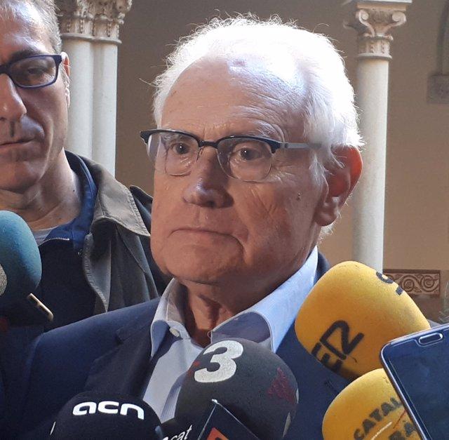 El execónomo del Arzobispado de Barcelona Antoni Matabosch