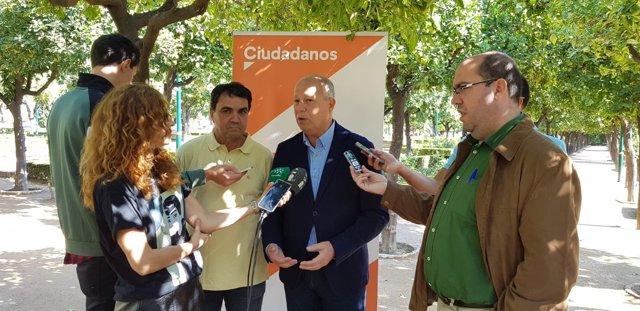 Javier Imbroda, hoy ante los medios