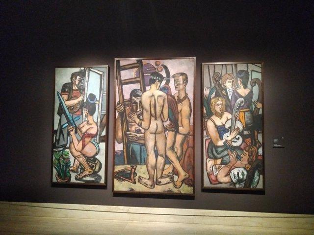 Los Argnautas en la exposición de Beckmann del Thyssen