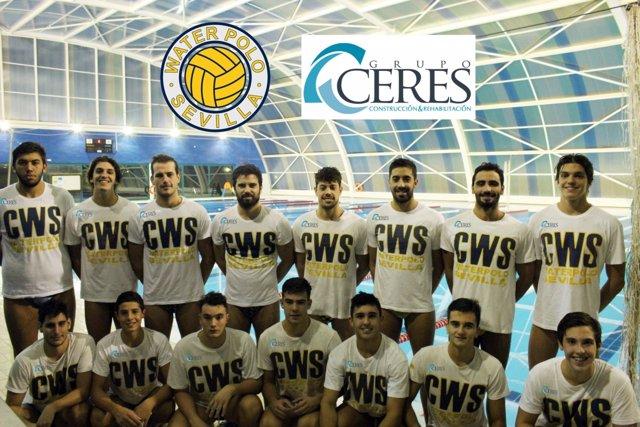 Primer equipo Waterpolo Sevilla-Grupo Ceres.