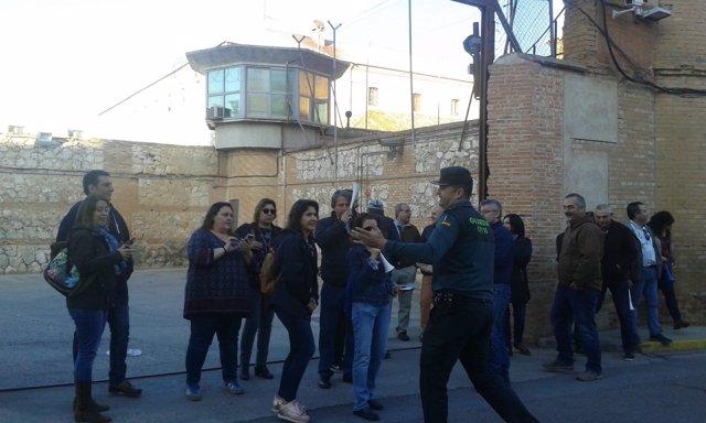 Funcionarios prisiones huelga en Ocaña