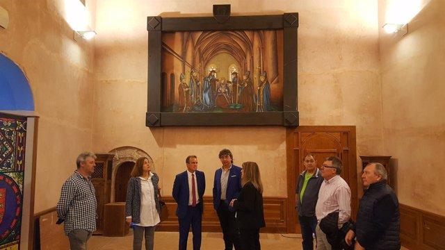 Sánchez Quero ha visitado hoy la sede de la Comarca del Aranda