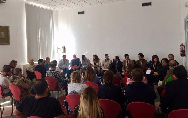 Ana Mata se reúne con ayuntamientos, entiedades en Campillos