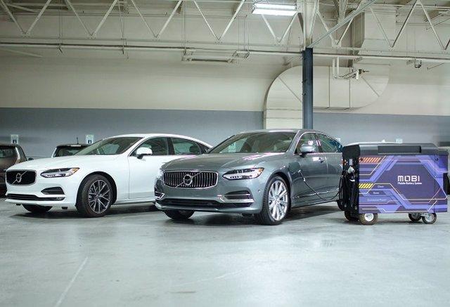Volvo invierte en la empresa de puntos de recarga para eléctricos FreeWire