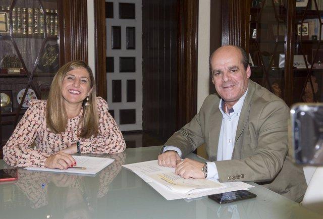 Irene García y Francisco Vaca