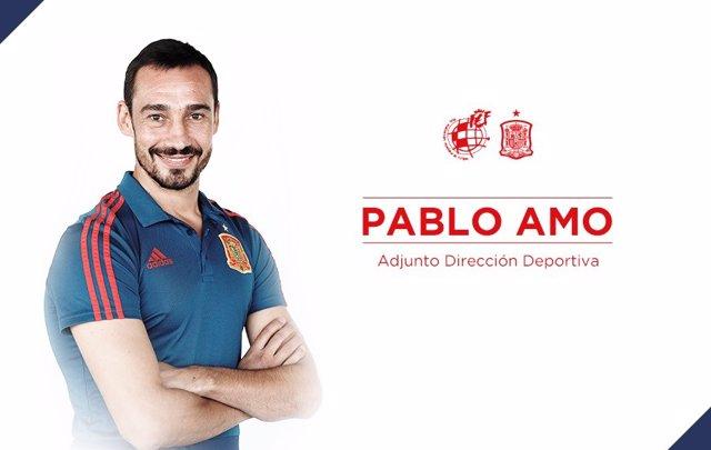 Pablo Amo se incorpora a la RFEF