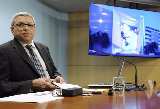 El director del Consell Regulador Andorrà del Joc, Xavier Bardina,