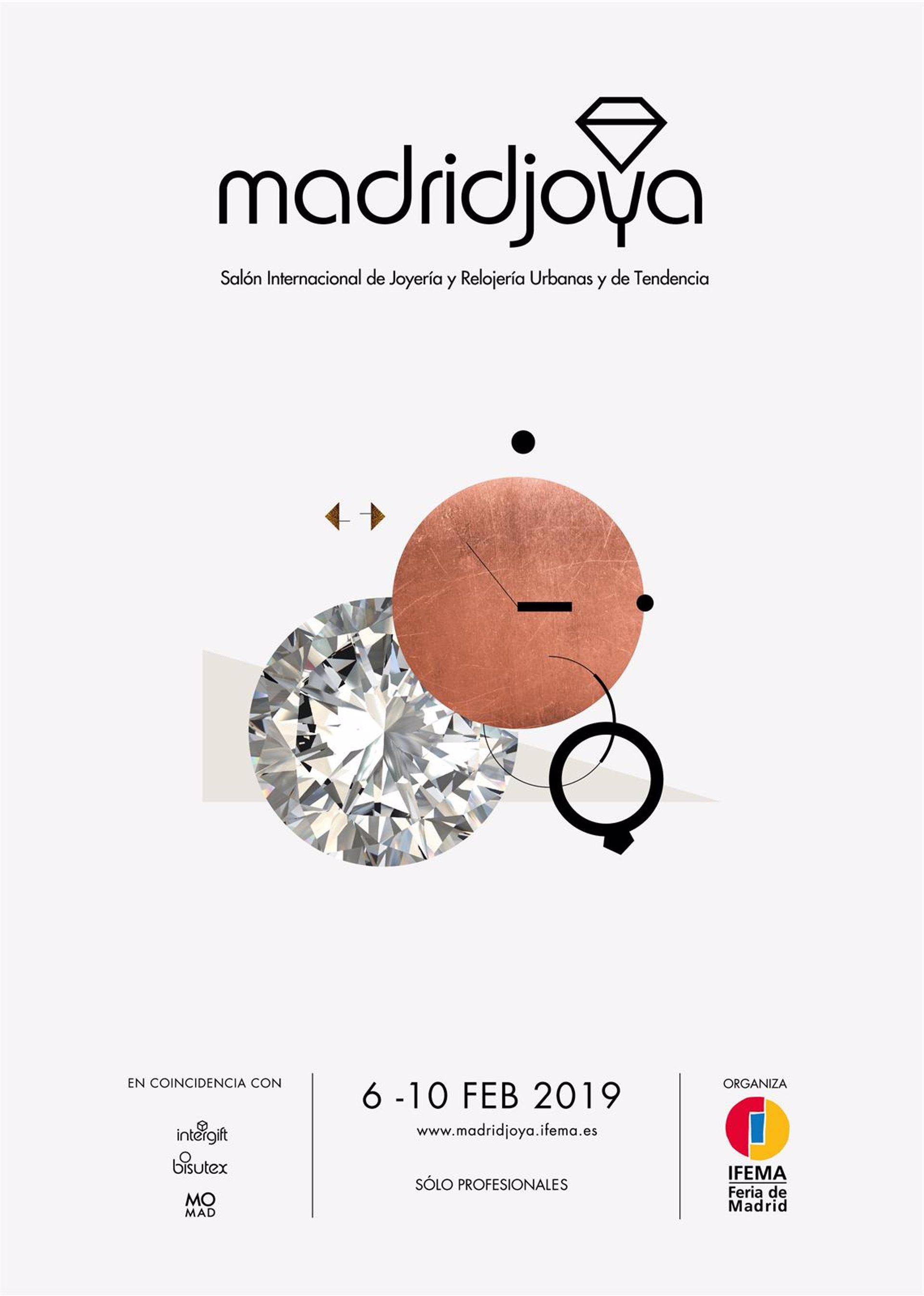0b9fe7047081 MadridJoya se celebra del 7 al 10 de febrero con las últimas novedades para  la Primavera-Verano 2019