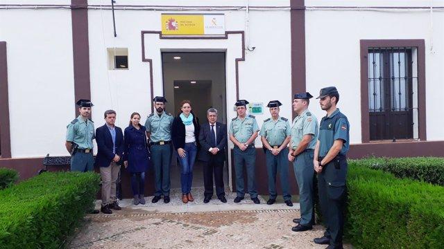 Carlos Toscano visita Aznalcázar