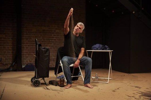 El actor británico Mark Lockyer en 'Keep on Walking, Federico'