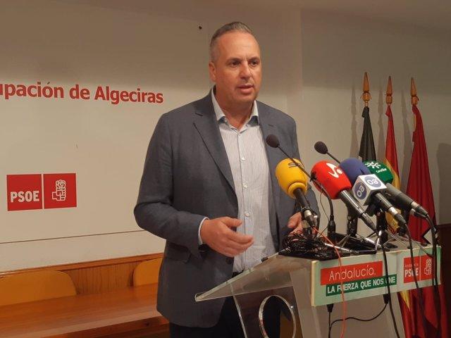 El vicesecretario general del PSOE de Cádiz, Juan Carlos Ruiz Boix