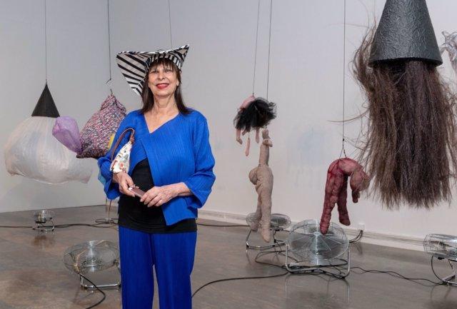 Carmen Alborch en el IVAM