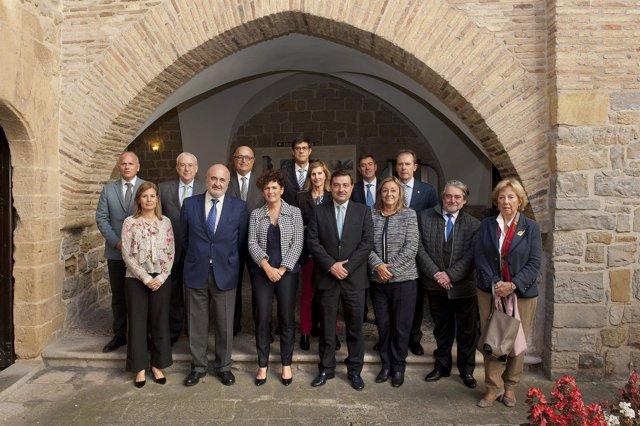 Responsables de las instituciones de control en Pamplona