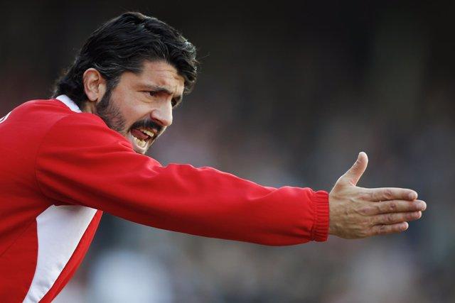 Gennaro Gattuso, nuevo entrenador del Milan