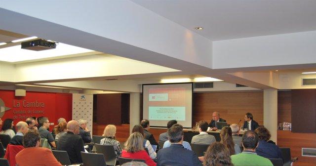 Una de las sesiones de la III Jornada de Internacionalización