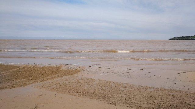 Episodio de contaminación en playa de San Lorenzo