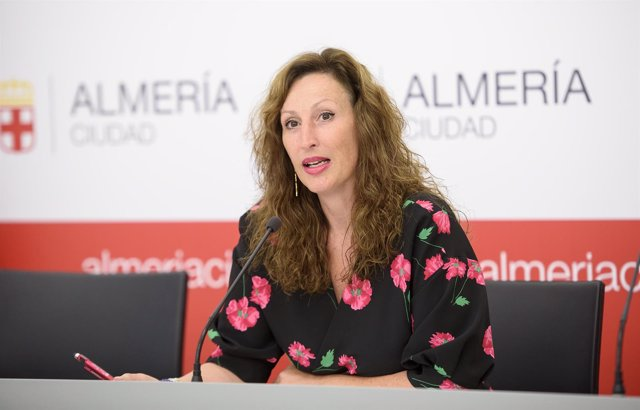 La concejal del PP de Almería, María Vázquez