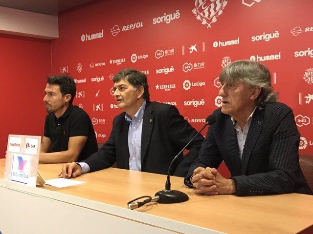 Enrique Martín, presentado como entrenador del Nàstic de Tarragona