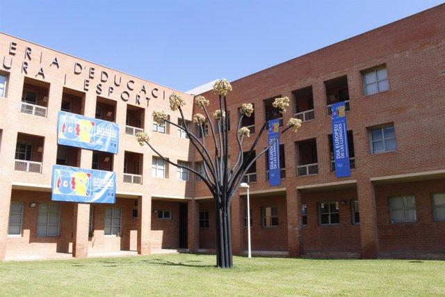 Sede de la Conselleria de Educación