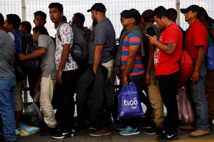 Aumentan las solicitudes de asilo en México un 65 por ciento en tres días