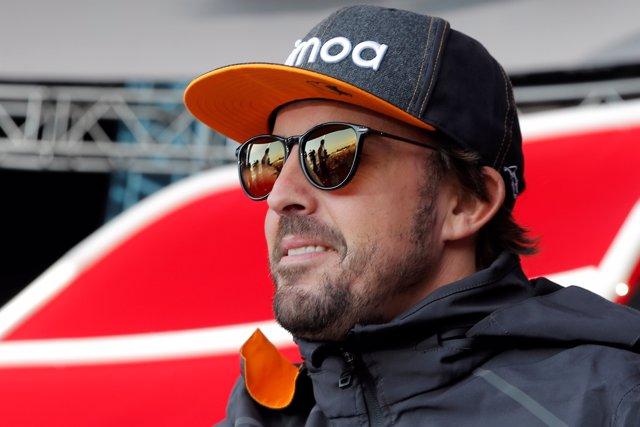 Fernando Alonso en el GP de Rusia