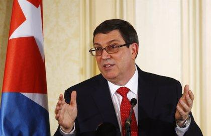 """El ministro de Exteriores de Cuba asegura que EEUU sigue un """"camino de confrontación"""""""