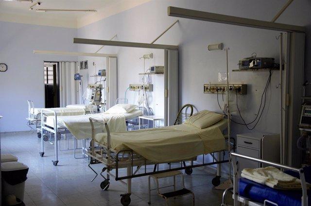 Camas de hospital, hospital