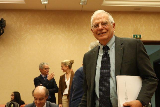 Josep Borrell comparece en Comisión Mixta para la Unión Europea