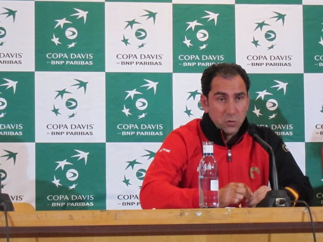 Albert Costa En Rueda De Prensa