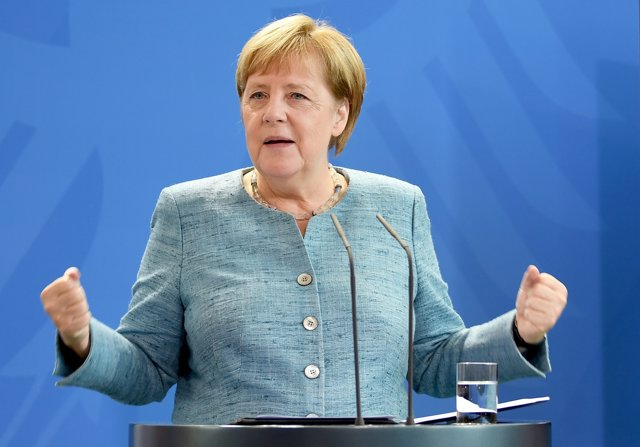 La cancillera alemana, Angela Merkel