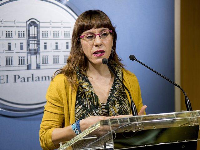 Portavoz adjunta de Podemos, Laura Camargo
