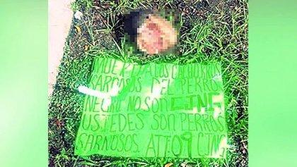 Encuentran la cabeza de un hombre frente a un parque infantil en Veracruz (México)