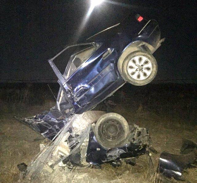 Imagen del aparatoso accidente