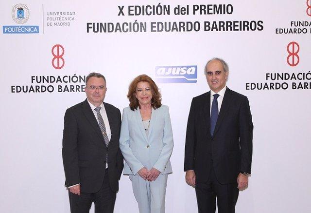 Jorge Cosmen, presidente de Asla, recibe premio Fundación Barreiros