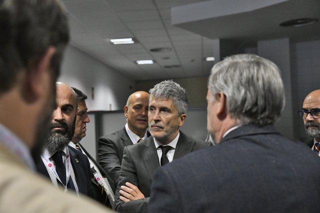 """Grande-Marlaska inaugura el curso """"La amenaza del terrorismo yihadista en Occide"""
