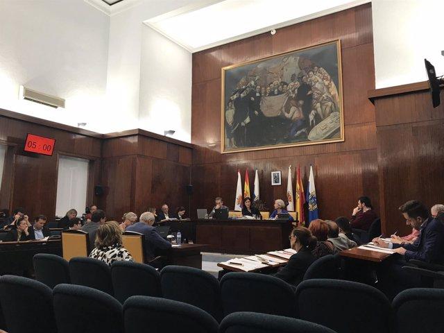 Pleno de octubre del Ayuntamiento de Santander