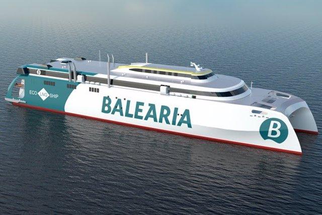 Nuevo 'fast ferry' de Baleària