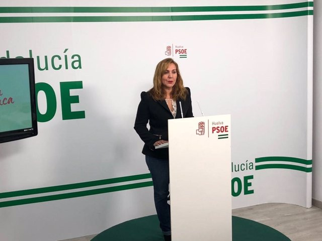 Belén Castillo, portavoz del PSOE en el Ayto de Palos de la Frontera.