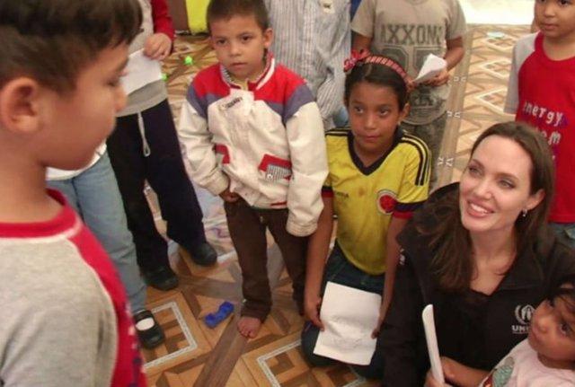 Angelina Jolie ACNUR