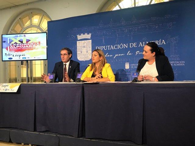 La Expoberja y la Ruta de la Tapa de Berja se han presentado en Diputación.