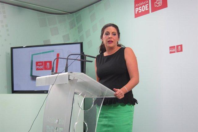 La secretaria de Formación y Nuevos Afiliados del PSOE-A, Ángeles Férriz.